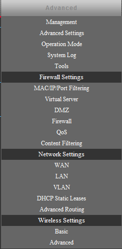 15.1 OPERATION MODE AP BRIDGE Choose menu Easy Setup and select AP Bridge if you want to configure to an access point.