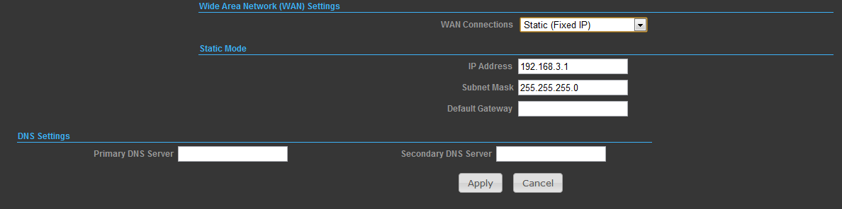 PPPoE (ADSL) -User Name Sets the PPPoE user name for the WAN port. (Default: pppoe_user; Range: 1~32 characters) -Password Sets a PPPoE password for the WAN port.