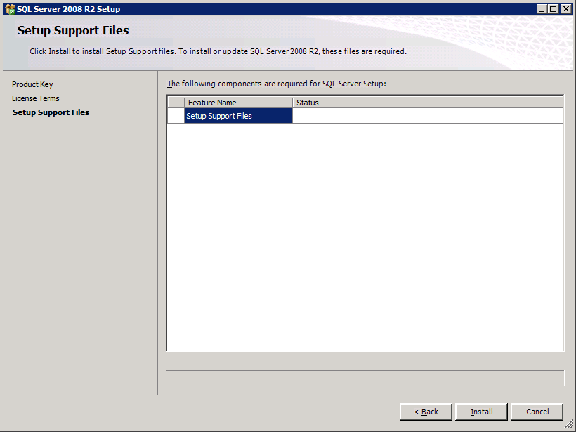 SQL Server 2008 R2 5 Select the radio button appropriate to this installation of SQL Server 2008.