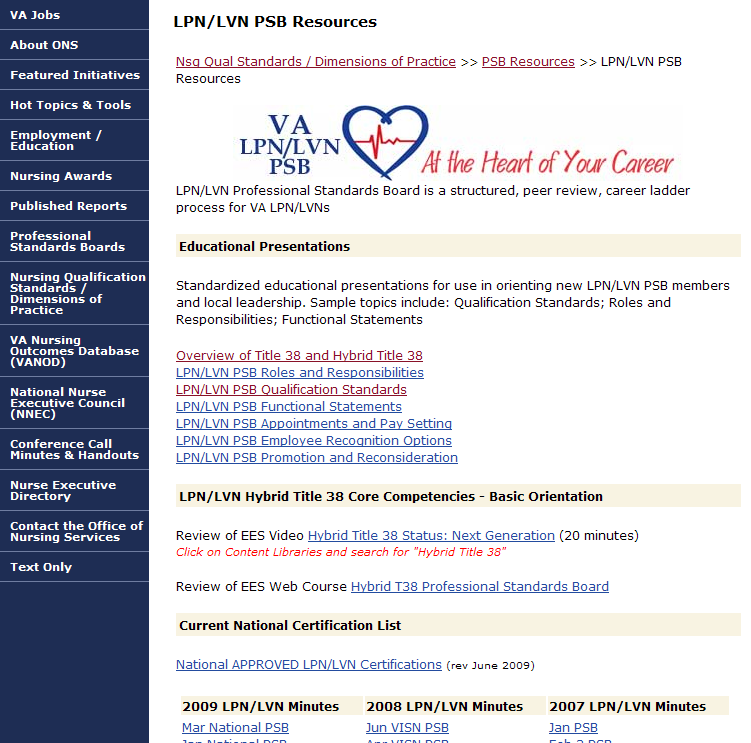 LPN/LVN PSB Resources Page Click Here