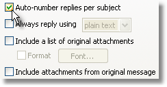 Reply Options 14 you can choose to use different greetings for different periods of the day.