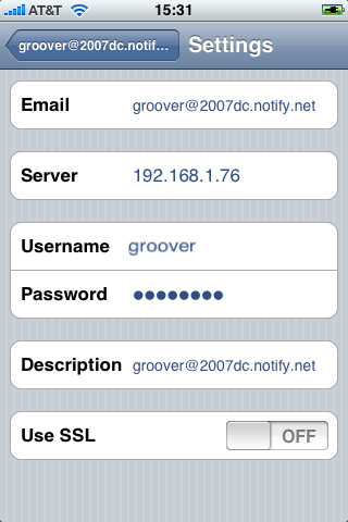 Security Settings Please note that ios 4 supports multiple Exchange ActiveSync accounts on a single device.