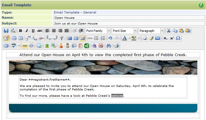 Adding Hyperlinks Adding hyperlinks to your email is simple to do and recommended if you have documents or larger images that you want the email recipient to view.