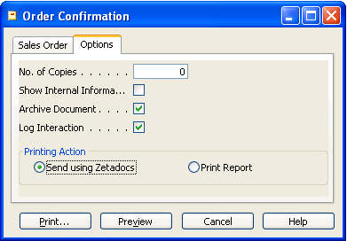 APPENDIX: Optional Zetadocs Report Format Figure 56 - Zetadocs Enabled Report Preview 12.