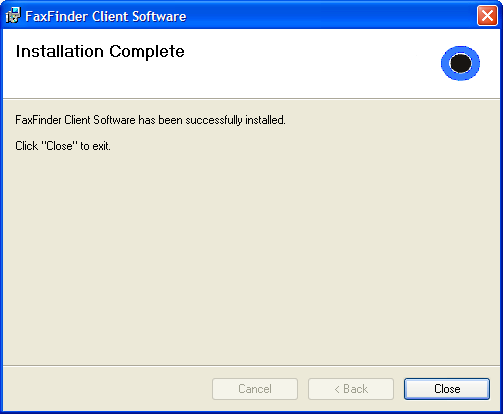 Chapter 2: FaxFinder Client Software Configuration G.