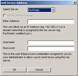 Chapter 2: FaxFinder Client Software Configuration Associating Client with Specific FaxFinder Unit(s) Sometimes more than one FaxFinder unit is connected to an Ethernet network.