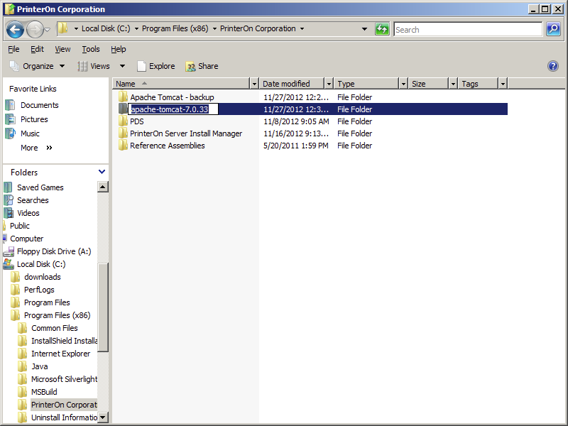 6. Migrate PrinterOn software to the new installation.