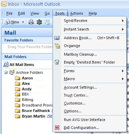 Outlook plugin, you need to configure it. 1. Start your Outlook Email client.