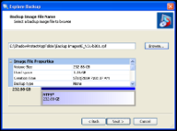 Mounting a Backup Image File The ShadowProtect Explore Backup Wizard guides you through the process of mounting a backup image file to browse and restore files and folders.