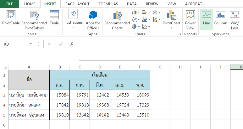 Microsoft Office Excel 03 : Excellent Excel Skill หน าท 46 3.