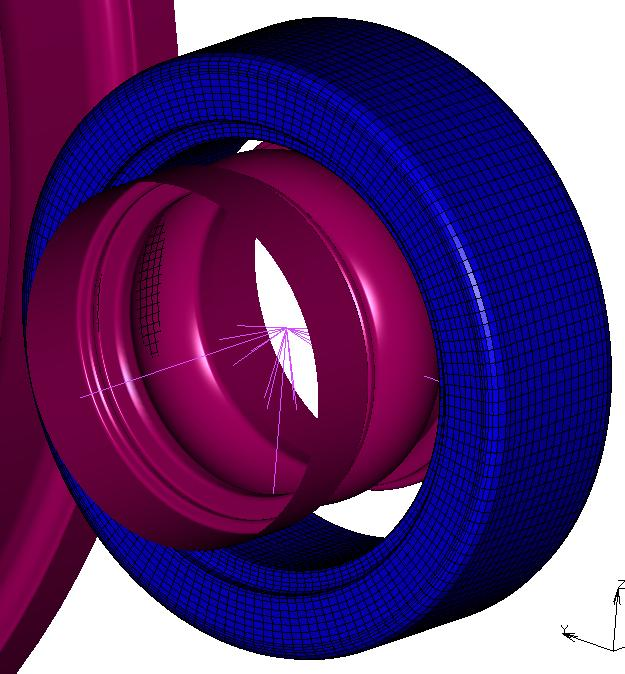 4.5. Resulting Ring Workpiece from Three-Dimensional Profiled Ring Rolling Simulation Figure 43 Final ring workpiece (right) rolled from the blank ring (left) As seen in the above Figure 43,