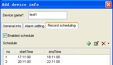 Alarm mode can be set by clicking on the Alarm Setting tab, as of Figure 4. Enabling the alarm, check the 'Enabled alarm' first.