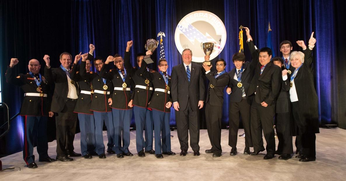 CP-V National Champions All Service Division: Marine Military Academy