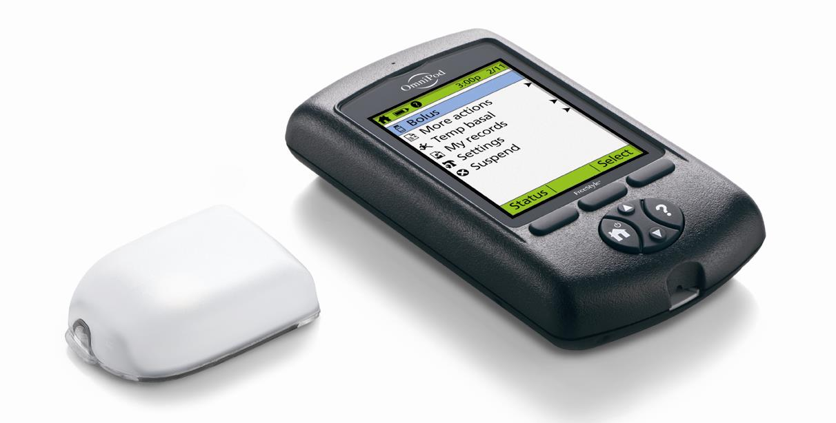 Insulet s New OmniPod Launched in 2013. 34% smaller, 16% slimmer vs.