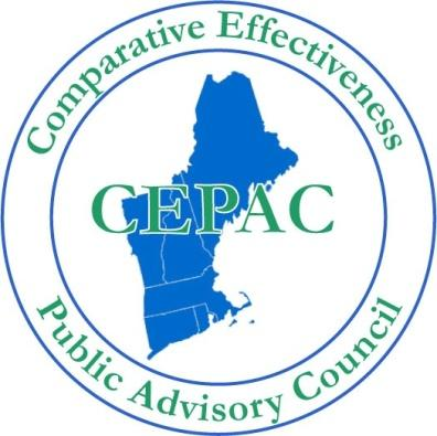 The New England Comparative Effectiveness Public Advisory Council Public
