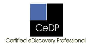 Organization of Legal Professionals ediscovery Certification Exam Candidate Handbook The CeDP Candidate Handbook This handbook has been prepared to explain what is needed to register for the CeDP