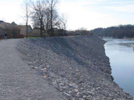 Mitigation: River Bank Stabilization