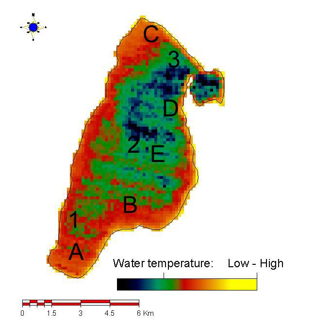 32 M. Stefouli et al. Changes of the lake and its surrounding environment can be reliably assessed.