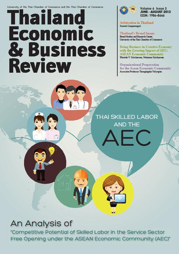 ต วอย าง Doing Business in Creative Economy with the Growing Impact of AEC: ASEAN Economic Community by