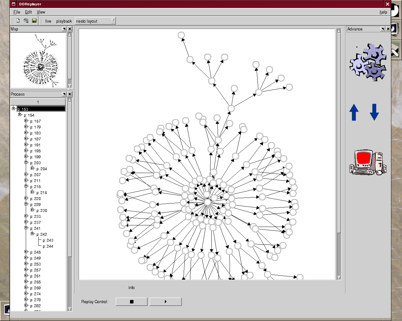 5.4. VISUALIZING MALFOR 51 Figure 5.12: The Malfor visualization tool.