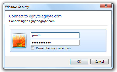 Desktop Access (map drive) Egnyte offers users a simple and familiar tool for accessing files.