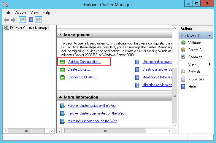 configuration, network configuration and so on; the creation stage is the real section to create Windows Server Failove cluster.