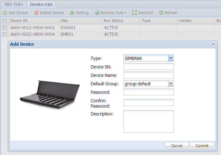 3.2.5 Add SIM Group Click [SIM GROUP] on the
