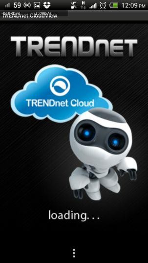view the TRENDnet camera.