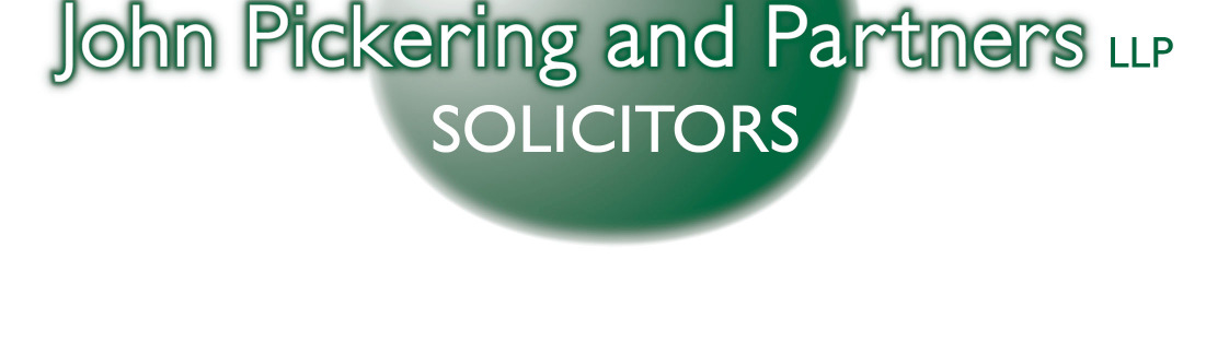 0161 834 1505 E: kj@johnpickering.co.uk E: nf@johnpickering.co.uk John Pickering and Partners LLP is a limited liability partnership registered in England and Wales, registered number OC320775.