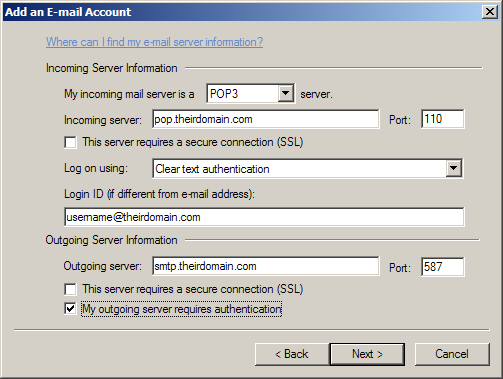 30 Setup E-mail in Windows Live Mail 1. Open Windows Live Mail if you get an error message, just click the X in the upper right corner of the dialog box. 2.