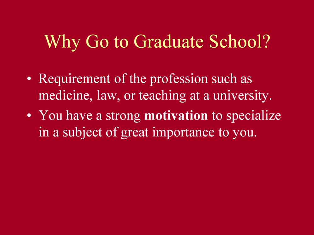 Hello, and welcome to the University of Utah webshop on getting into graduate school.