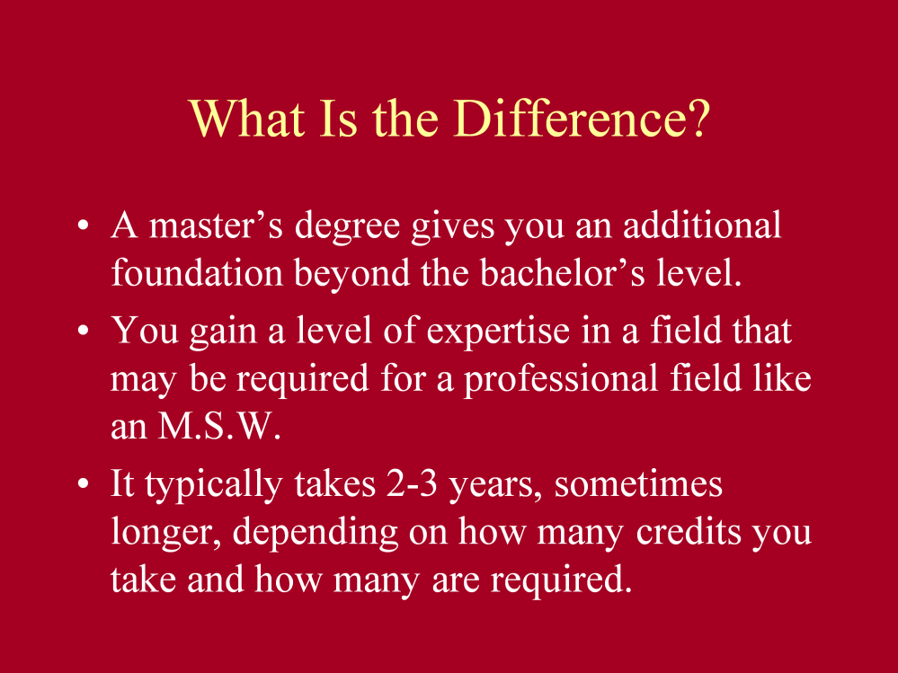 A bachelor s degree shows you posses the basic knowledge to understand the theory underlying a field.