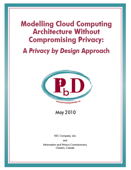 Cloud Computing Architecture and Privacy Cloud Delivery Models