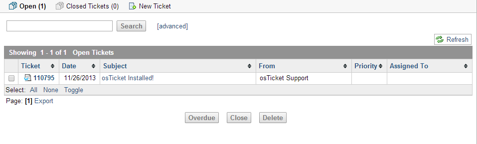 Tickets The main functionality for a help-desk agent is to address tickets.