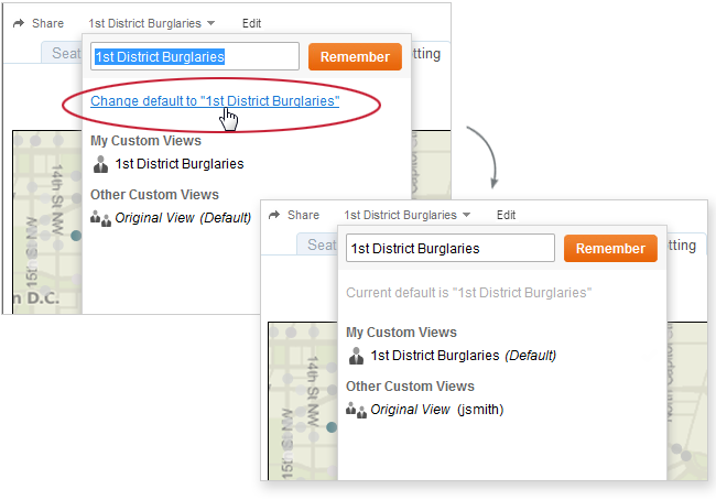 Advertise Your Custom View By default your custom view is private and only you can see it on your list. If your license level is Interactor, you can choose to advertise it to others.