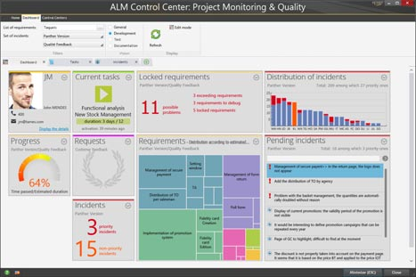 MASTER THE LIFE CYCLE. ALM CONTROL CENTER.
