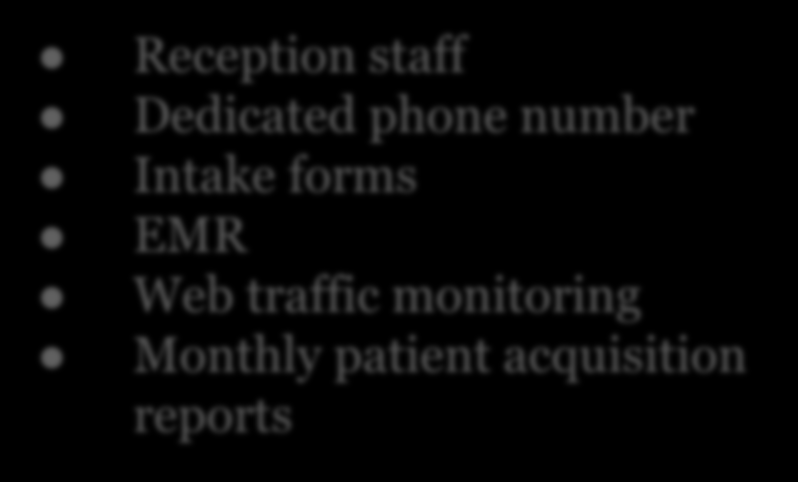 forms EMR Web traffic monitoring