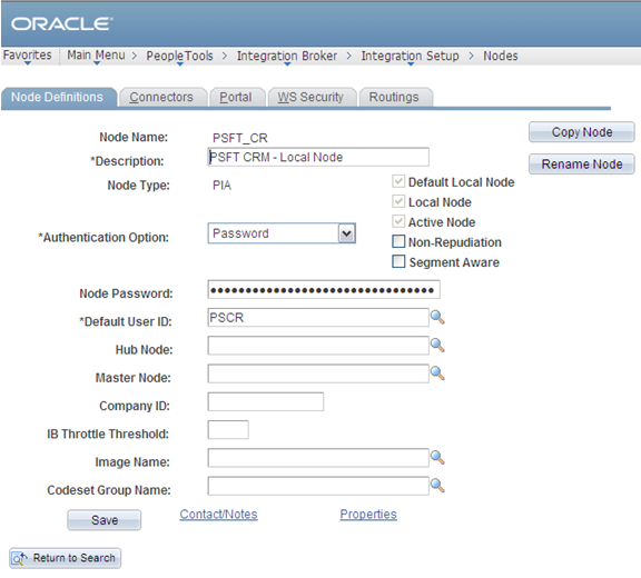 Integrating PeopleSoft Customer Relationship Management 9.2 with Oracle E-Business Suite Chapter 6 3.