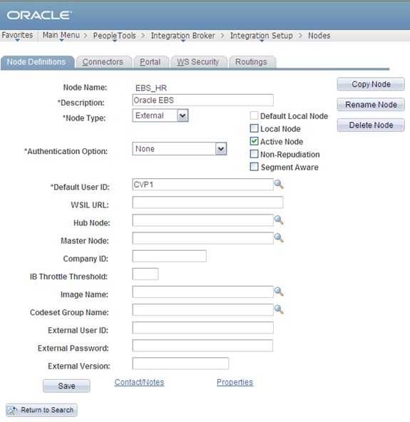 Chapter 6 Integrating PeopleSoft Customer Relationship Management 9.2 with Oracle E-Business Suite 3.