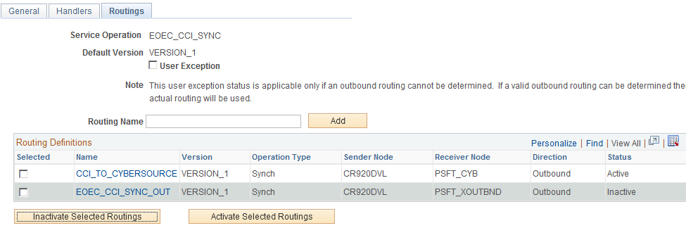 Installing PeopleSoft CRM 9.2 Applications Chapter 1 5. Click the Connector Properties tab, make sure that the properties match those you set on the Node in step 2.