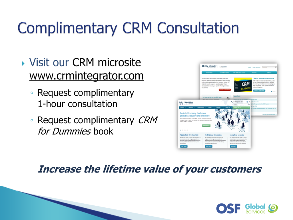 CRM is a complex system that touches all departments across your company and impacts your customers.