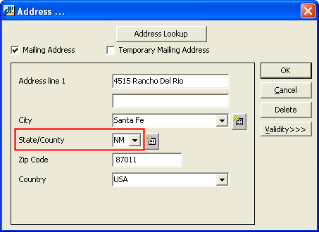 CLIENT RELATIONSHIP MANAGEMENT (CRM) 183 States Table Administration includes the States table that you can edit to define the states available when you configure addresses on client records CRM.