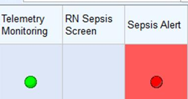 Delivery: Sepsis - Providers Providers receive an alert on their patient list when a patient meets criteria for risk of sepsis.