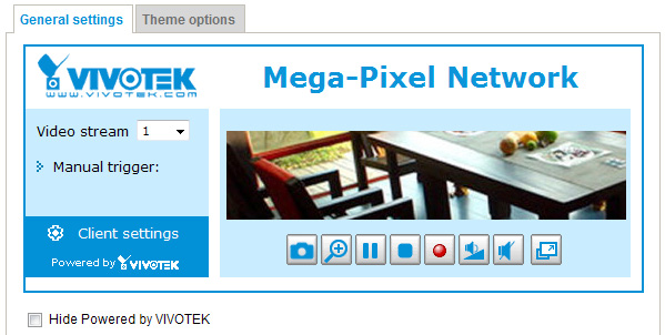 Homepage Layout Advanced Mode This section explains how to set up your own customized homepage layout. Preview This column shows the settings of your homepage layout.