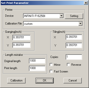 1) Select File / Print, pop up a dialog box, see below: Figure 10-3-2 Dialog box for printing 2) Press Modify button, a dialog box shows below.