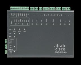 CAN Bus Cisco Access Gateway 250,000 encrypted credentials Autonomous or Networked Operation Layer 2 Switch Additional Modules POE Cisco Physical Access Manager LDAP / Microsoft Active