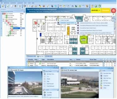 Scalable command and control interface that unifies Cisco Video Surveillance Manager, Physical Access Manager, and IPICS Improved security operations with unified command and control Interactive maps