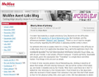 McAfee Labs 300+ dedicated threat researchers Global Threat Intelligence Founded in 1995