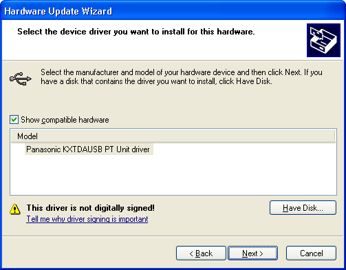 Updating the USB Driver 4. Select Don t search. I will choose the driver to install.