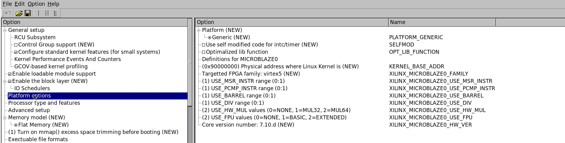 Prerequisites (5) Download Linux kernel http://www.kernel.org/pub/linux/kernel/v2.6/linux-2.6.38.2.tar.bz2 Configure kernel Copy arch/microblaze/configs/mmu_defconfig to.